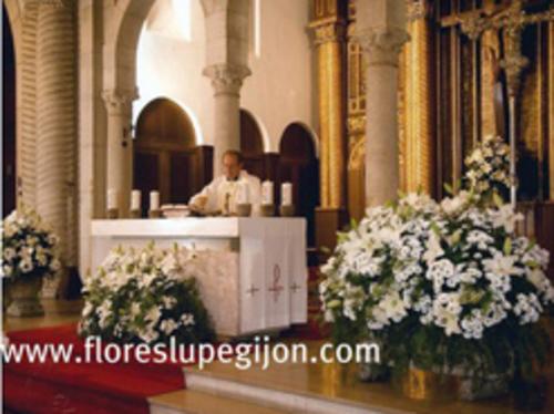 Flores Lupe - Decoración de iglesias  - Flores Lupe